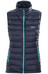 Patagonia Down Sweater Vest Women Navy Blue w/Epic Blue